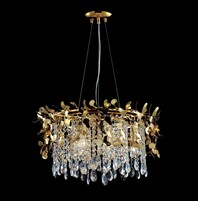Люстра Crystal Lux Romeo ROMEO SP6 GOLD D600