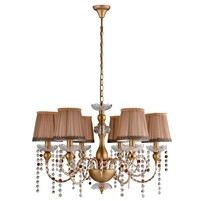 Люстра Crystal Lux ALEGRIA ALEGRIA SP6 GOLD-BROWN