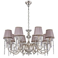 Люстра Crystal Lux ALEGRIA ALEGRIA SP8 SILVER-BROWN