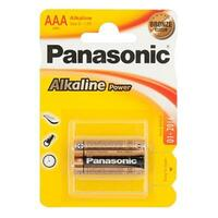 Элемент питания PANASONIC Alkaline Power LR03 286 BL 2 (цена за 1шт.)