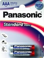 Элемент питания PANASONIC Everyday LR03 286 BL2 standart 218119 (цена за 1шт.)