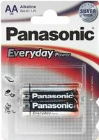 Элемент питания PANASONIC Everyday LR6 316 BL2 standart 218116 (цена за 1шт.)