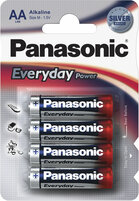 Элемент питания PANASONIC Everyday LR6 316 BL4 standart 214528 (цена за 1шт.)