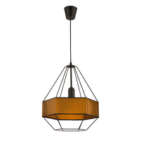 TK LIGHTING 1529 Cristal Brown 1