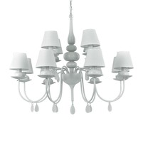 Люстра IDEAL LUX Blanche BLANCHE SP12 BIANCO
