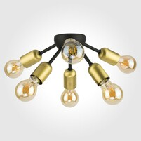 Люстра TK LIGHTING Estrella Black 1467