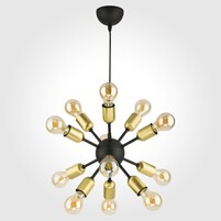 Люстра TK LIGHTING Estrella Black 1469