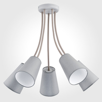 Люстра TK LIGHTING Wire Gray 2101