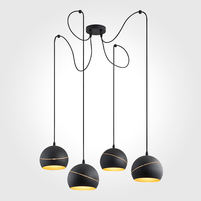 Люстра TK LIGHTING Yoda Black Orbit 2221