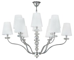 Люстра CRYSTAL LUX ARMANDO SP6+6 CHROME
