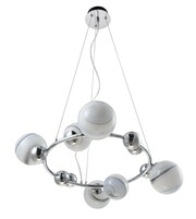 Люстра CRYSTAL LUX SALVADORE SP6H CHROME